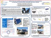 Optical-thermal modeling and experimental performance characterization of novel glass encased all glass evacuated tube solar collector